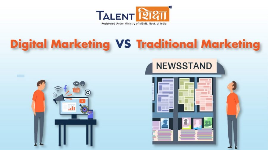 Can Digital Marketing replace traditional marketing?
