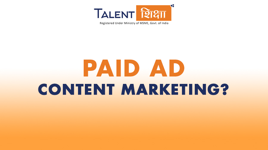 Paid Ad Content Marketing